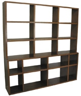 J Green Furniture Knotty Alder Bookcase