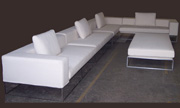 J Green Furniture Italian Style Sectional